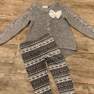 Gray Sweater Outfit